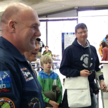 TU/e receives visit from astronaut André Kuipers