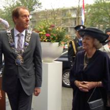 Princess Beatrix opens new Archipel Landrijt building