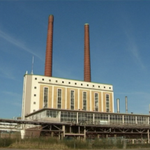 Multi-million-euro conflict halts asbestos removal power station