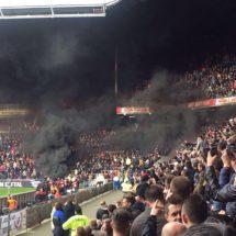 PSV beats AJAX; board furious about smoke bombs