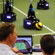 Robot footballers TU / e lose World Cup final