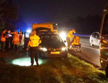 One injured in A2 accident