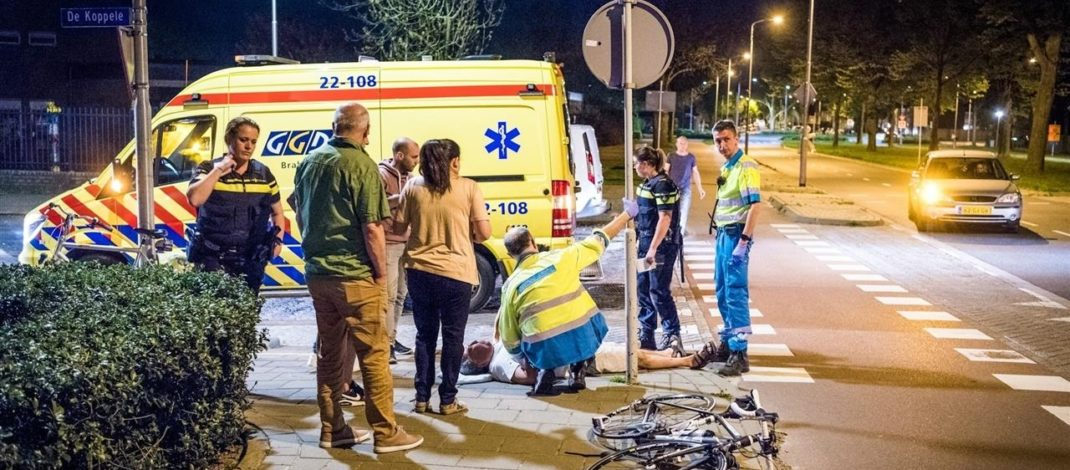 Two cyclists injured after collision