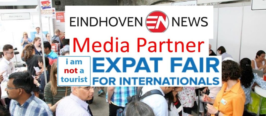 Eindhoven News again media partner 'Expat Fair' 2018